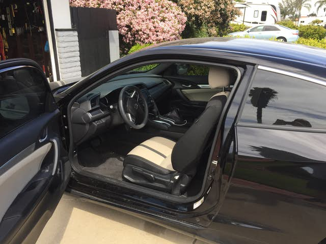 Picture of 2018 Honda Civic Coupe LX-P, interior, gallery_worthy