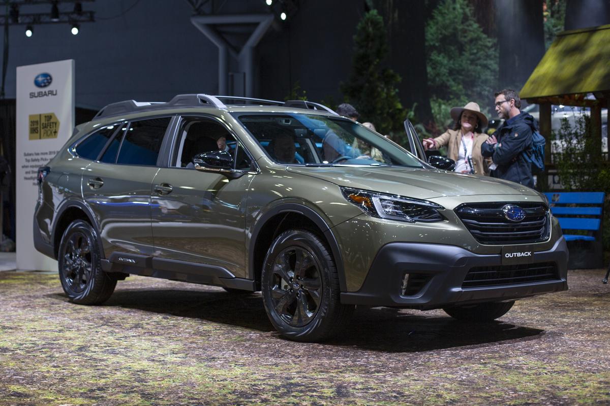 Subaru outback onyx edition xt