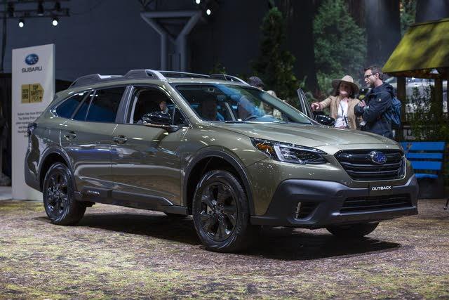 2020 Subaru Outback Pictures Cargurus