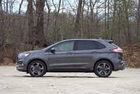Side profile of the 2019 Ford Edge ST., exterior, gallery_worthy