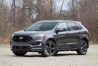 Front 3/4 profile of the 2019 Ford Edge ST., exterior, gallery_worthy