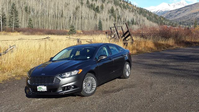 Picture of 2016 Ford Fusion Titanium AWD, exterior, gallery_worthy