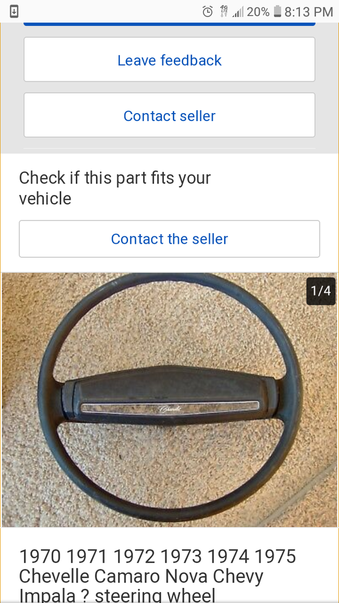 i have 1973 impala i just bought a original horn and when putting it on it  constantly blows  there was a after market horn on before i switched and it  did