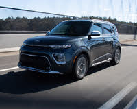 2020 Kia Soul X-Line FWD, 2020 Kia Soul Driving, exterior, gallery_worthy