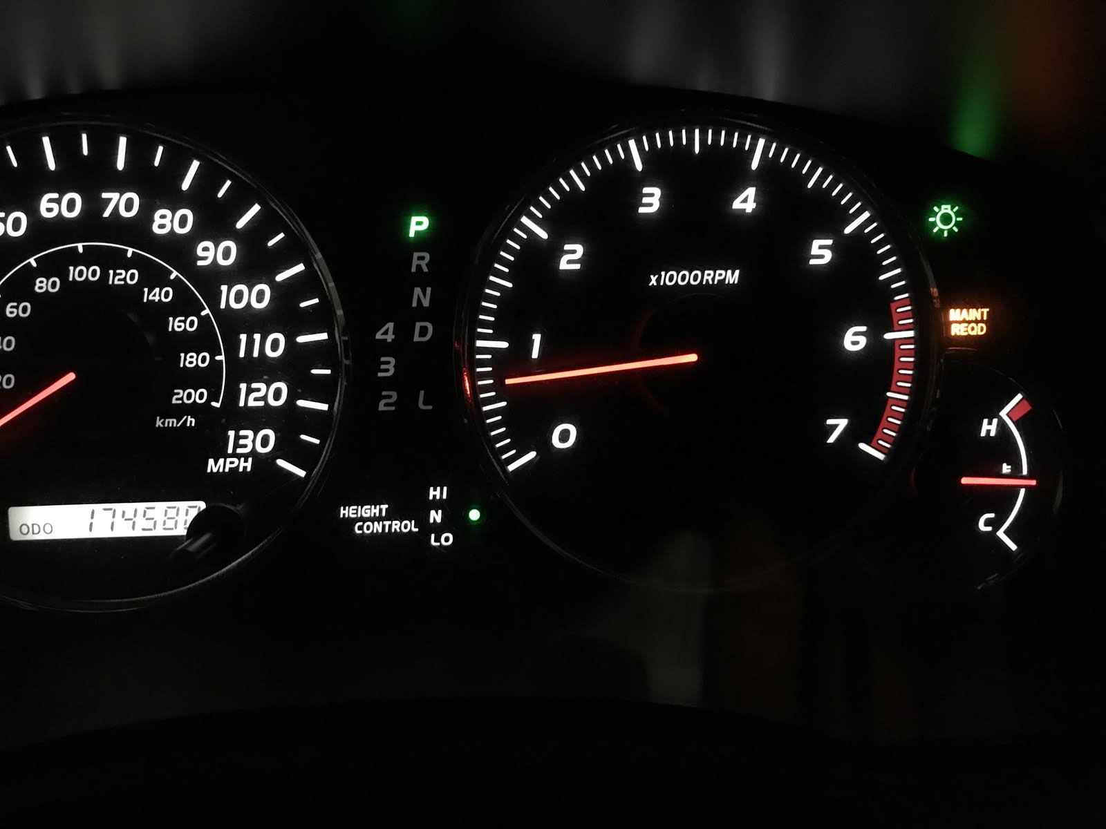 Lexus GX 470 Questions - Electronic Dashboard going haywire