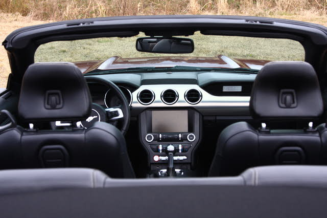 Picture of 2015 Ford Mustang EcoBoost Premium Convertible RWD, interior, gallery_worthy