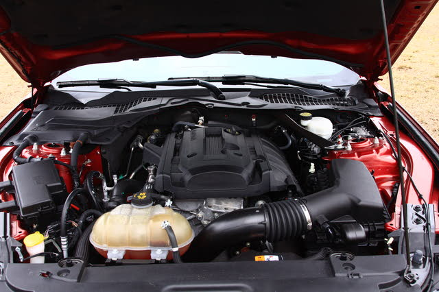 Picture of 2015 Ford Mustang EcoBoost Premium Convertible RWD, engine, gallery_worthy