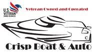 Crisp Boat & Auto logo