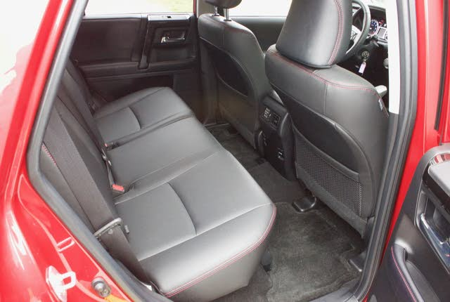 Rear seat area of the 2019 Toyota 4Runner., gallery_worthy