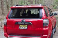 Rear hatch of the 2019 Toyota 4Runner with rear window lowered., exterior, gallery_worthy