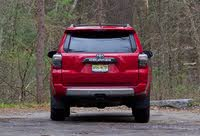 Rear profile of the 2019 Toyota 4Runner., exterior, gallery_worthy