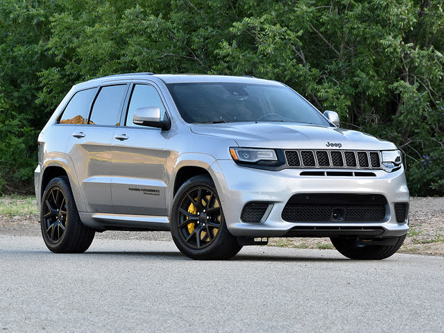 2019 Jeep Grand Cherokee Trackhawk in Silver