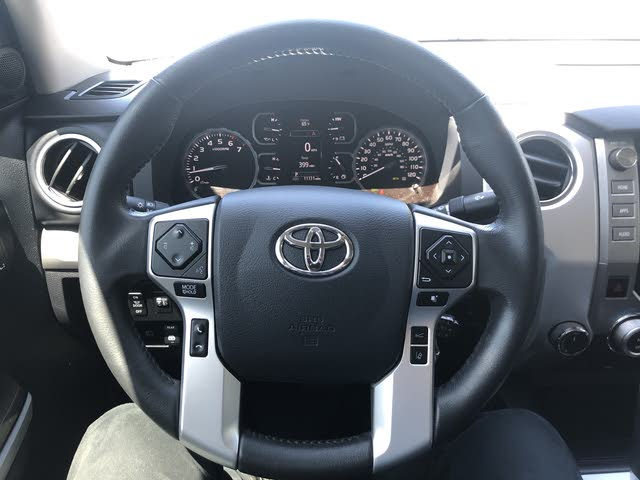 Picture of 2018 Toyota Tundra Platinum CrewMax 5.7L 4WD, interior, gallery_worthy