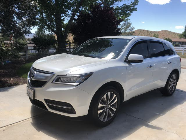 Picture of 2015 Acura MDX FWD with Technology Package, exterior, gallery_worthy