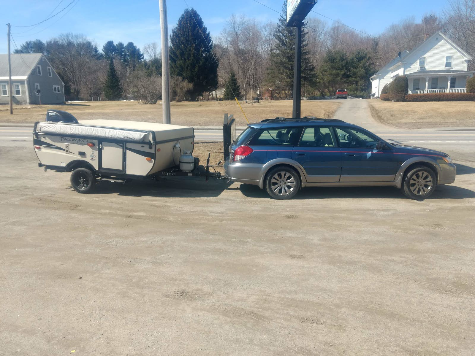 Subaru Outback Questions - Towing with Outback Limited 2 5i