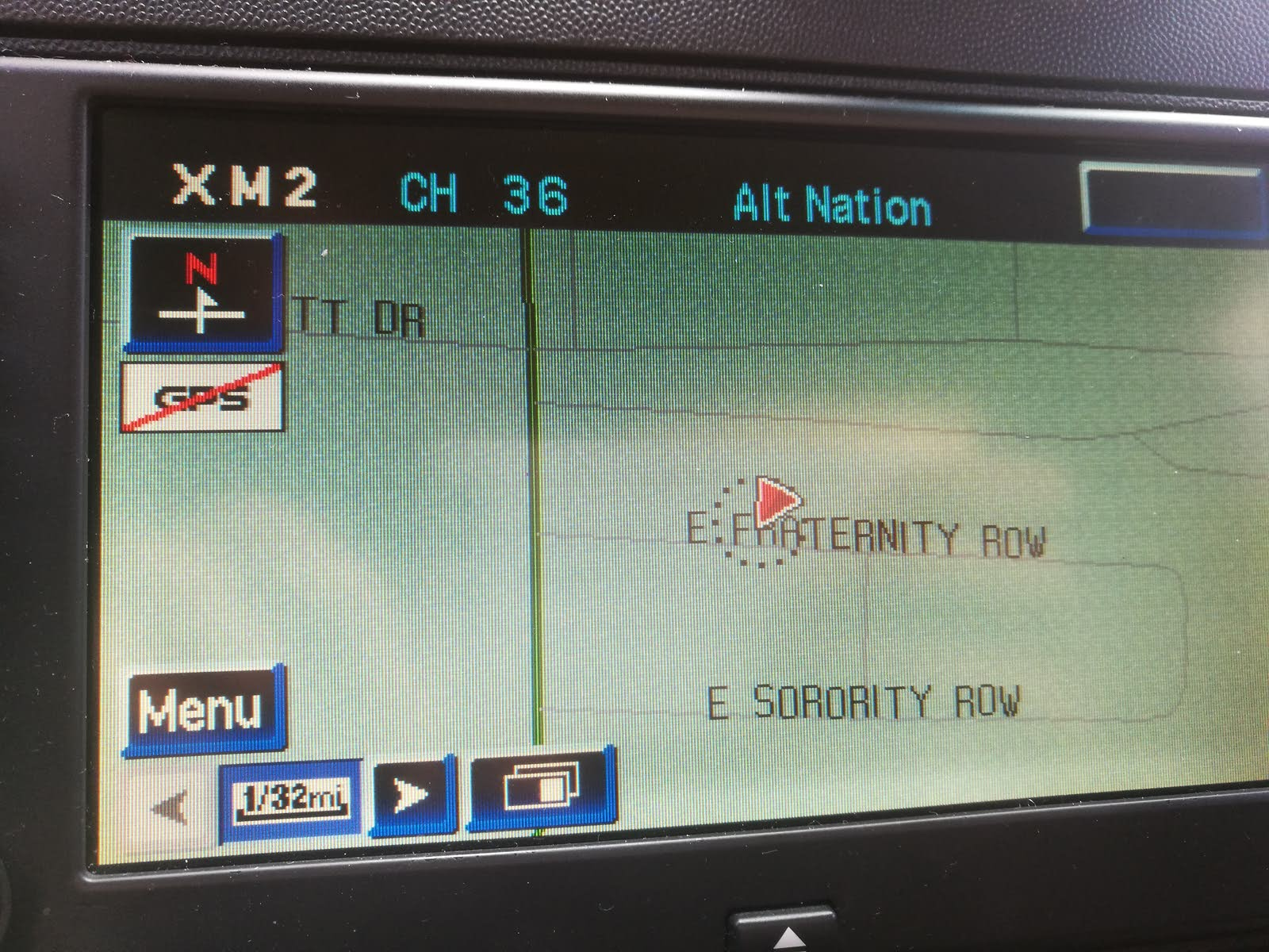car's gps stopped working