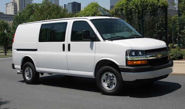 2019 Chevrolet Express Cargo, exterior, manufacturer, gallery_worthy