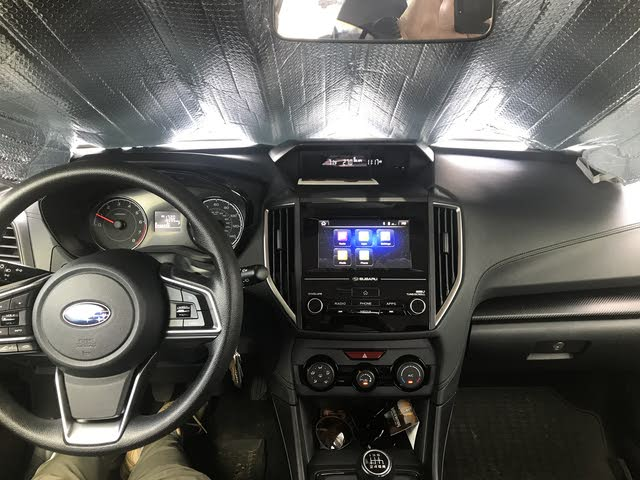 Picture of 2018 Subaru Crosstrek Base, interior, gallery_worthy