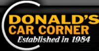 Donald's Car Corner logo