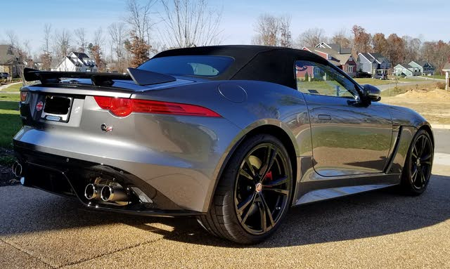 Picture of 2017 Jaguar F-TYPE SVR Convertible AWD, exterior, gallery_worthy