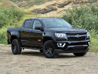 2019 Chevrolet Colorado Z71 Crew Cab 4WD, 2019 Chevrolet Colorado Z71 Midnight Edition, exterior, gallery_worthy