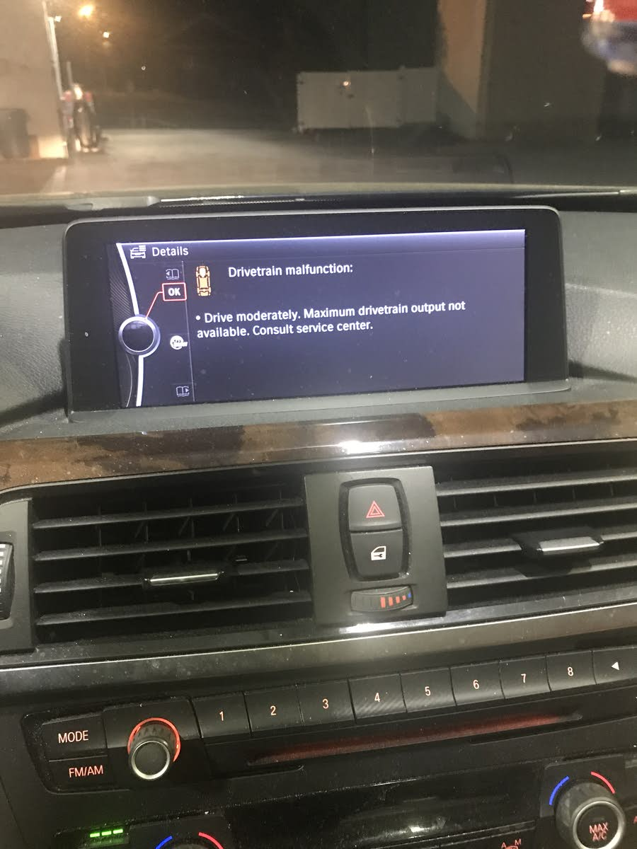 BMW 7 Series Questions - System prompts me to drive