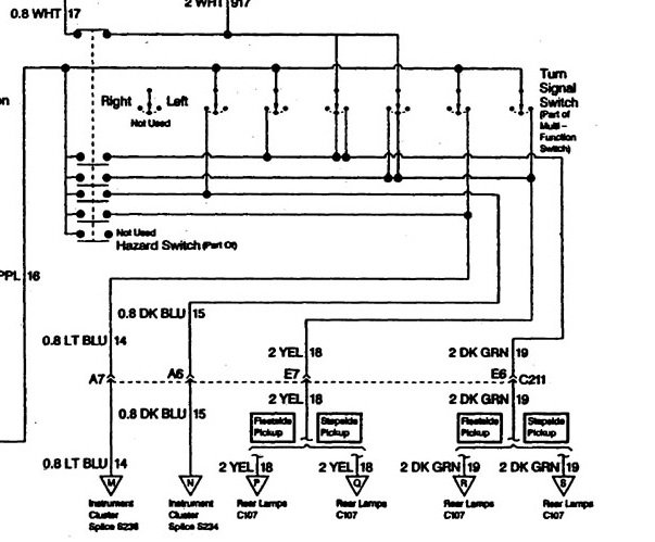 Brake Light Switch Wiring Diagram - Database