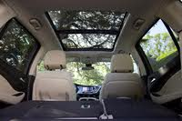 Panoramic sunroof of the 2019 Buick Envision., interior, gallery_worthy
