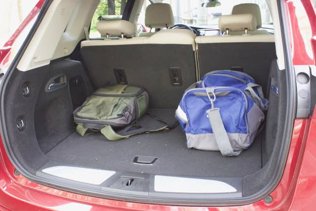 Cargo area of the 2019 Buick Envision., gallery_worthy