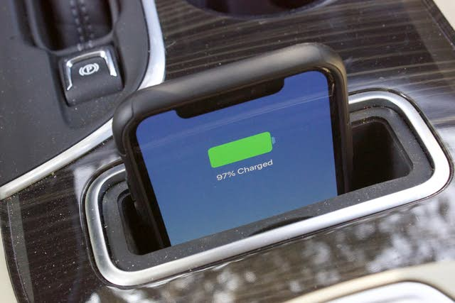 Wireless charging port of the 2019 Buick Envision., gallery_worthy