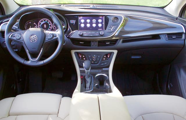 Cabin area of the 2019 Buick Envision., gallery_worthy