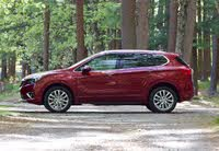 Side profile of the 2019 Buick Envision., exterior, gallery_worthy