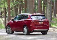 Rear 3/4 profile of the 2019 Buick Envision., gallery_worthy