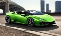 2020 Lamborghini Huracan Evo Spyder, exterior, manufacturer, gallery_worthy