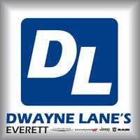 Dwayne Lane's Chrysler Jeep Dodge Ram logo