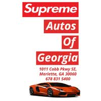 Supreme Autos of Georgia logo