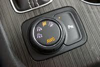 Drive mode dial of the 2019 GMC Acadia., interior, gallery_worthy