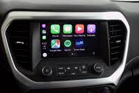 Infotainment screen of the 2019 GMC Acadia. Apple CarPlay home screen is shown., interior, gallery_worthy