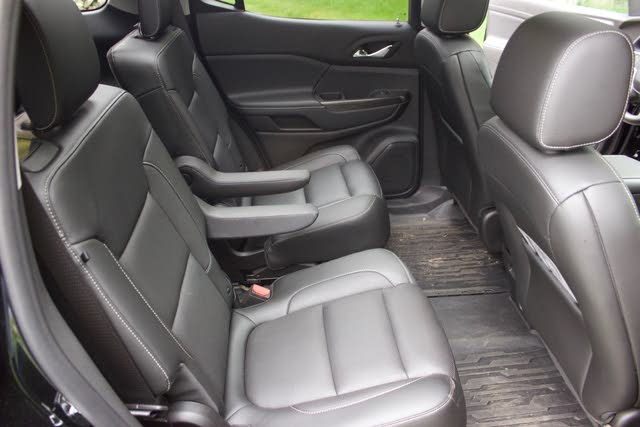Second-row captains chairs of the 2019 GMC Acadia., interior, gallery_worthy