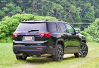 Rear 3/4 profile of the 2019 GMC Acadia., exterior, gallery_worthy