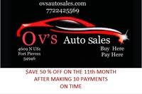 OV'S Auto Sales logo