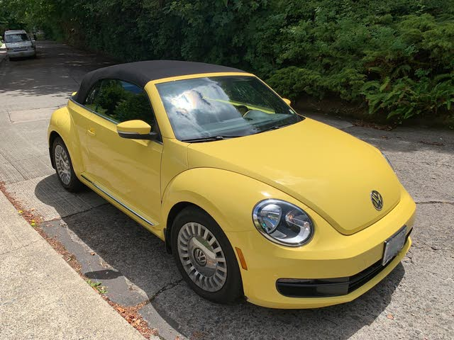 Picture of 2015 Volkswagen Beetle 1.8T Convertible w/ Technology and Rearview Camera, exterior, gallery_worthy