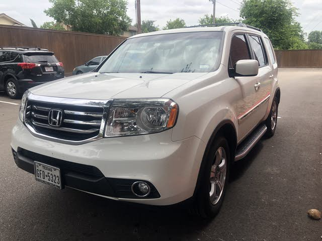 Picture of 2012 Honda Pilot EX-L w/ Nav 4WD, exterior, gallery_worthy