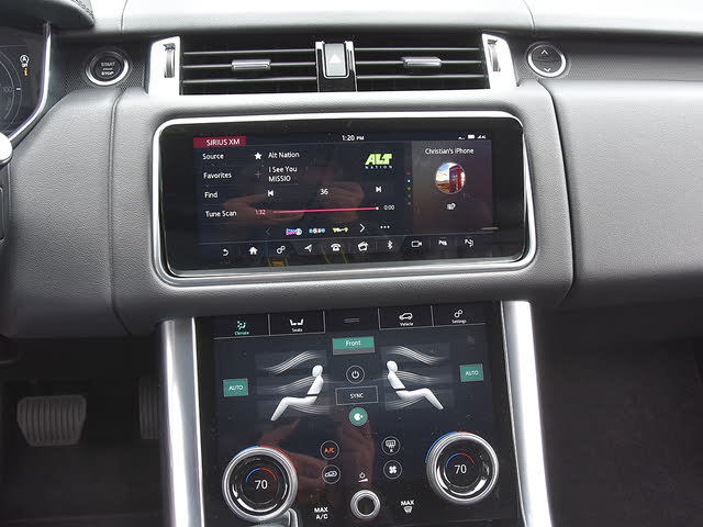 2020 Land Rover Range Rover Sport Hybrid Plug-in HSE 4WD, 2020 Land Rover Range Rover Sport Plug-in Hybrid In Control Touch Pro Duo Infotainment, interior, gallery_worthy