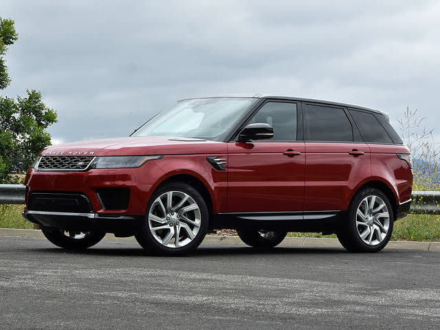 2020 Land Rover Range Rover Sport Plug-in Hybrid Firenze Red