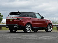 2020 Land Rover Range Rover Sport Hybrid Plug-in HSE 4WD, 2020 Land Rover Range Rover Sport Plug-in Hybrid Firenze Red, exterior, gallery_worthy