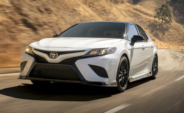 2020 Toyota Camry TRD, exterior, manufacturer, gallery_worthy