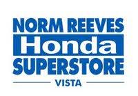 Norm Reeves Vista Honda logo