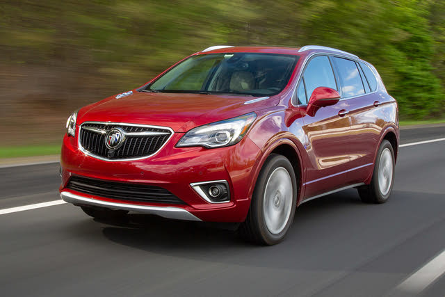 2019 Buick Envision Driving