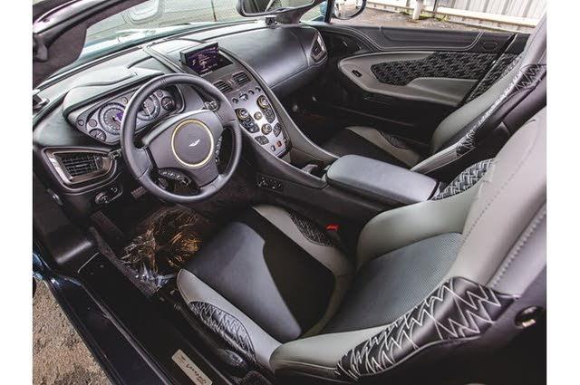 2018 Aston Martin Vanquish Interior Pictures Cargurus